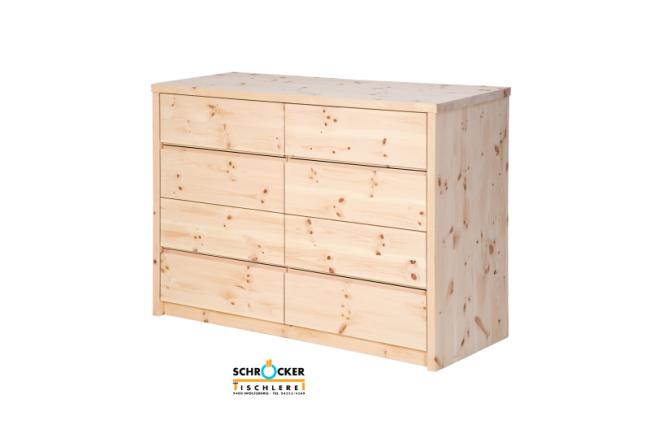 Zirbenkommode premium zirbe k2 for Kommode zirbenholz